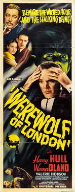 Werewolf of London - 14 x 36 Movie Poster - Insert Style C