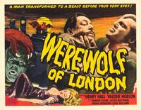 Werewolf of London - 11 x 14 Movie Poster - Style A