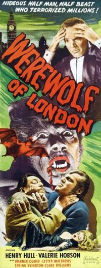 Werewolf of London - 14 x 36 Movie Poster - Insert Style B