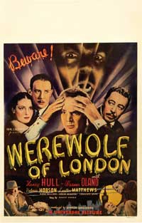 Werewolf of London - 11 x 17 Movie Poster - Style D
