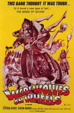 Werewolves on Wheels - 11 x 17 Movie Poster - Style B