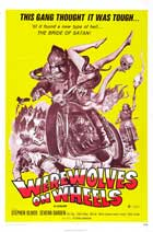 Werewolves on Wheels - 11 x 17 Movie Poster - Style C
