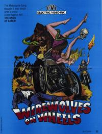Werewolves on Wheels - 11 x 17 Movie Poster - Style A
