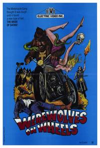 Werewolves on Wheels - 27 x 40 Movie Poster - Style A