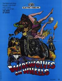 Werewolves on Wheels - 43 x 62 Movie Poster - Bus Shelter Style A