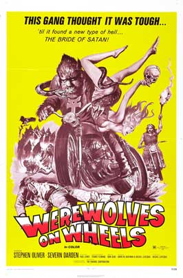 Werewolves on Wheels - 27 x 40 Movie Poster - Style C