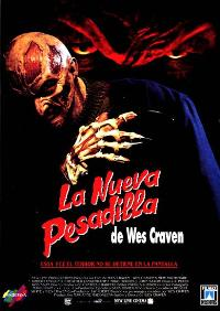 Wes Craven's New Nightmare - 11 x 17 Movie Poster - Spanish Style A