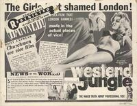 West End Jungle - 22 x 28 Movie Poster - Half Sheet Style A