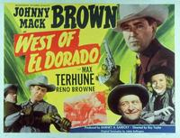 West of El Dorado - 11 x 14 Movie Poster - Style A