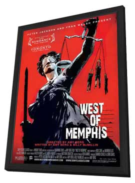 West of Memphis - 11 x 17 Movie Poster - Style A - in Deluxe Wood Frame