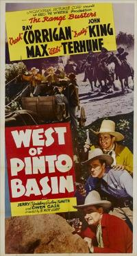 West of Pinto Basin - 11 x 17 Movie Poster - Style A