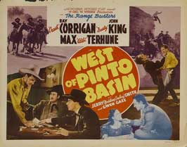 West of Pinto Basin - 11 x 14 Movie Poster - Style A