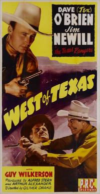 West of Texas - 11 x 17 Movie Poster - Style A