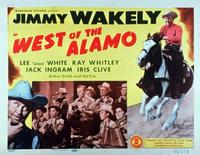 West of the Alamo - 11 x 14 Movie Poster - Style A