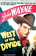 West of the Divide - 11 x 17 Movie Poster - Style B