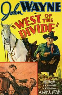 West of the Divide - 11 x 17 Movie Poster - Style A