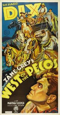 West of the Pecos - 27 x 40 Movie Poster - Style B