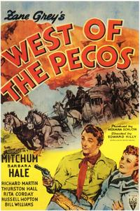 West of the Pecos - 11 x 17 Movie Poster - Style A