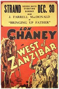 West of Zanzibar - 11 x 17 Movie Poster - Style A