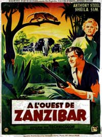 West of Zanzibar - 11 x 17 Movie Poster - French Style C