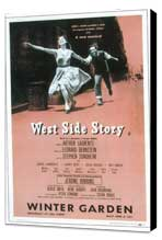 West Side Story (Broadway) - 11 x 17 Poster - Style B - Museum Wrapped Canvas