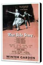 West Side Story (Broadway) - 14 x 22 Poster - Style B - Museum Wrapped Canvas