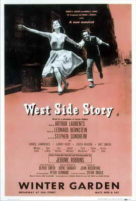 West Side Story (Broadway) - 11 x 17 Poster - Style B