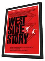 West Side Story (Broadway) - 11 x 17 Poster - Style A - in Deluxe Wood Frame