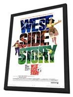 West Side Story - 11 x 17 Movie Poster - Style A - in Deluxe Wood Frame