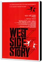 West Side Story - 11 x 17 Movie Poster - Style A - Museum Wrapped Canvas