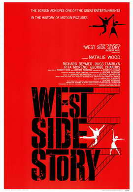 West Side Story - 11 x 17 Movie Poster - Style A