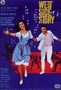 West Side Story - 11 x 17 Movie Poster - Italian Style A
