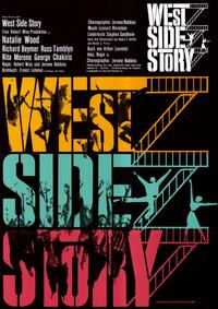 West Side Story - 11 x 17 Movie Poster - German Style A