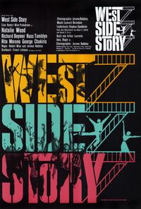 West Side Story - 27 x 40 Movie Poster - German Style A
