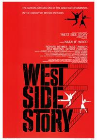West Side Story - 43 x 62 Movie Poster - Bus Shelter Style A