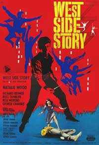 West Side Story - 11 x 17 Movie Poster - Italian Style B