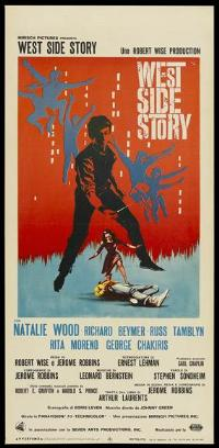 West Side Story - 13 x 28 Movie Poster - Italian Style A
