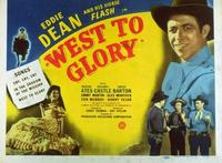 West to Glory - 11 x 14 Movie Poster - Style A