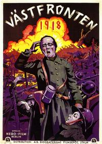Westfront 1918 - 11 x 17 Poster - Foreign - Style A