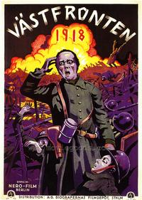 Westfront 1918 - 27 x 40 Movie Poster - Foreign - Style A