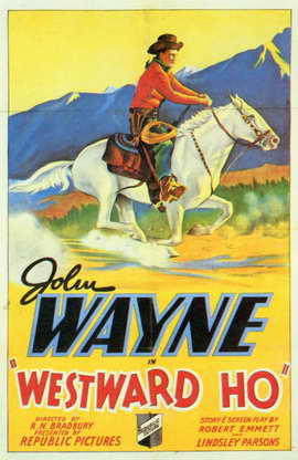 Westward Ho - 11 x 17 Movie Poster - Style A