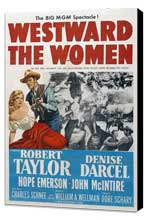 Westward the Women - 11 x 17 Movie Poster - Style A - Museum Wrapped Canvas