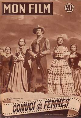 Westward the Women - 11 x 17 Movie Poster - French Style A