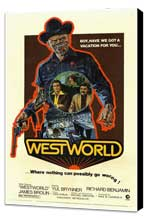Westworld - 11 x 17 Movie Poster - Style A - Museum Wrapped Canvas