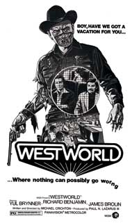 Westworld - 43 x 62 Movie Poster - Bus Shelter Style A