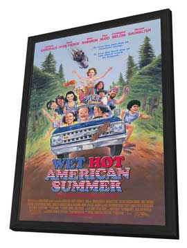 Wet Hot American Summer - 11 x 17 Movie Poster - Style A - in Deluxe Wood Frame