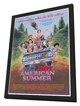 Wet Hot American Summer - 27 x 40 Movie Poster - Style A - in Deluxe Wood Frame