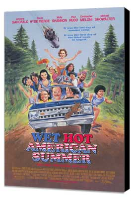 Wet Hot American Summer - 11 x 17 Movie Poster - Style A - Museum Wrapped Canvas