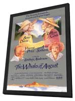 The Whales of August - 11 x 17 Movie Poster - Style A - in Deluxe Wood Frame