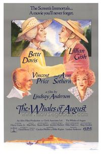 The Whales of August - 27 x 40 Movie Poster - Style A